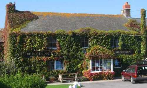Photo: North Inn pub in Pendeen, Cornwall